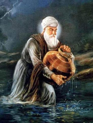 Shri Guru Nanak Dev ji..   PunjabiDharti.Com