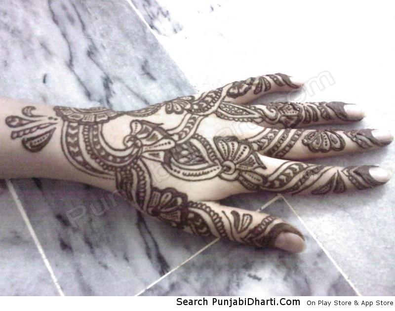 Mehndi Designs Upload : Mehndi design punjabidharti
