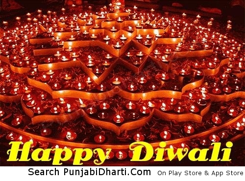 Happy diwali lantern images