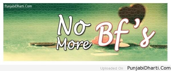 no more bf's