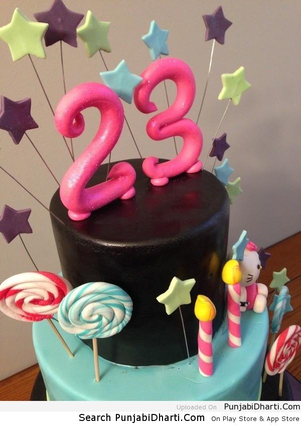 Открытка с днем рождения 23 года девушке 99