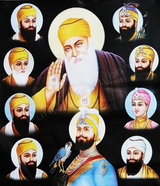 Ten Gurus | PunjabiDharti.Com