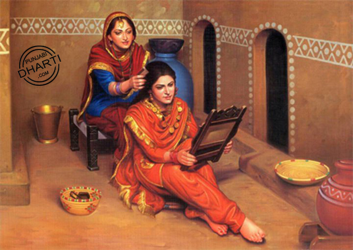essay on punjabi culture in punjabi language