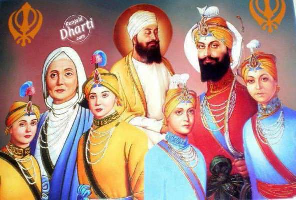 guru Gobind Singh Ji With Family.jpg